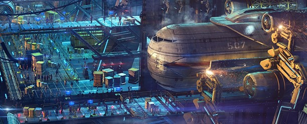 The Art of Tau Station