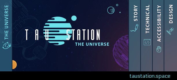 Tau Station logo The Universe