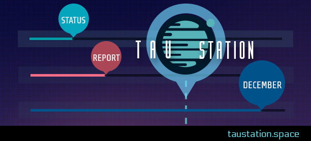 Tau Station Status Report: December