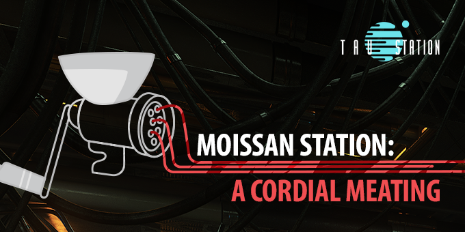 Moissan Station: A Cordial Meating