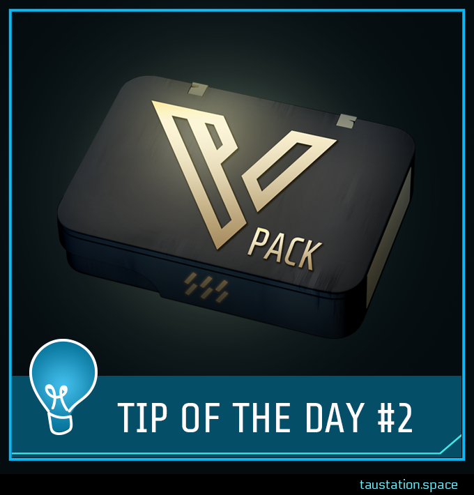 A shiny VIP package item