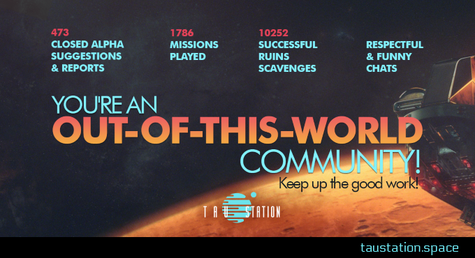 You're an Out-Of-This-World Community!