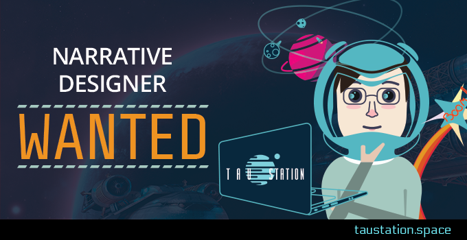 We're hiring additional Narrative Designers. Join us!