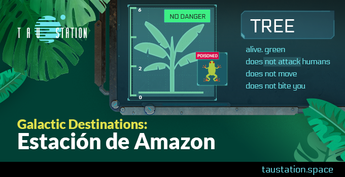 Galactic Destinations: Estación de Amazon