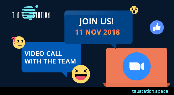Invitation to a video call with our team
