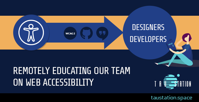 Remotely educating our team on web accessibility