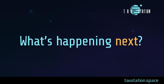 What's happening next?