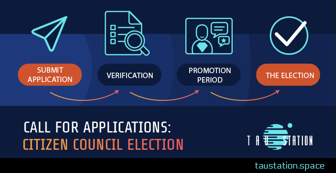 Call for applications: Citizen Council Election