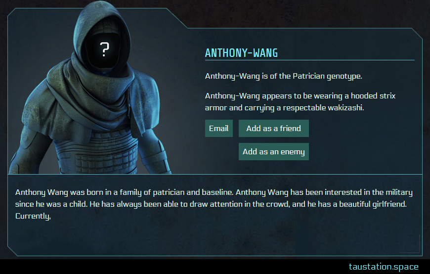 Screenshot of Anthony-Wang's public profile page