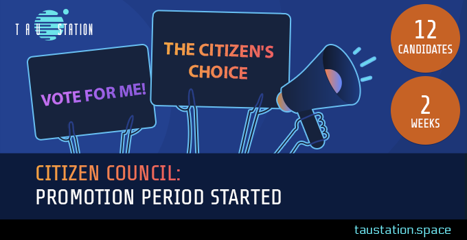 Citizen Council: Promotion Period started