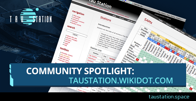 Community Spotlight: taustation.wikidot.com