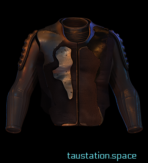 The Patchwork Bomber has had extra leather patches added on the chest and on the back, as well as on the elbows. However, the patches are all of different colors and thickness.