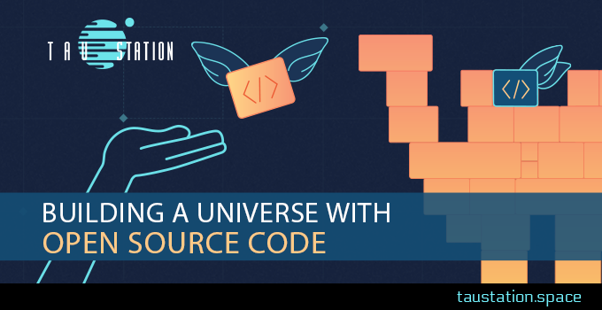 Building a Universe with Open Source Code