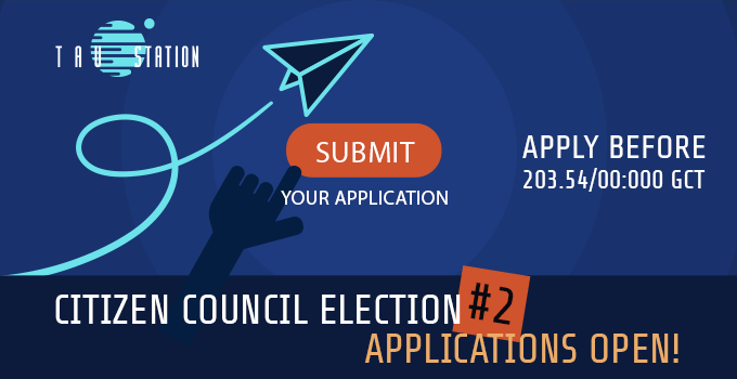 Citizen Council Election #2 – Applications Open!