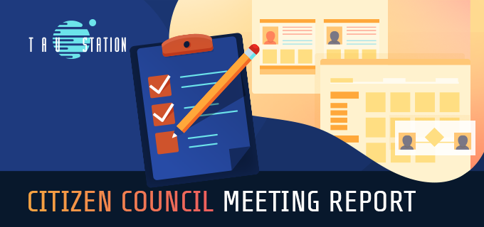 Citizen Council Meeting Report