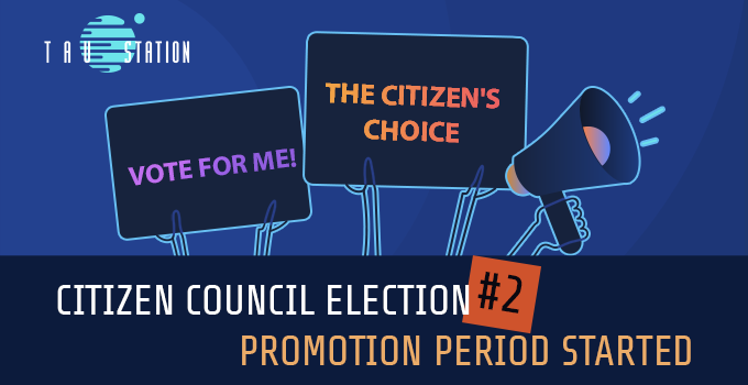 Citizen Council Election #2 – Promotion Period starting soon