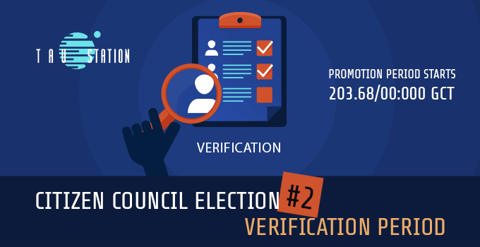 Citizen Council Election #2 – Verification Period starting soon