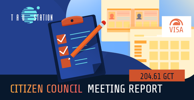 Citizen Council: Meeting Report 204.61 GCT