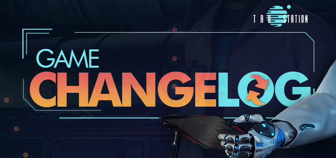Tau Station MMORPG narrative game update changelog header