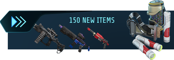 150 new items