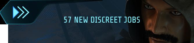 57 new discreet jobs