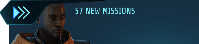 57 new missions