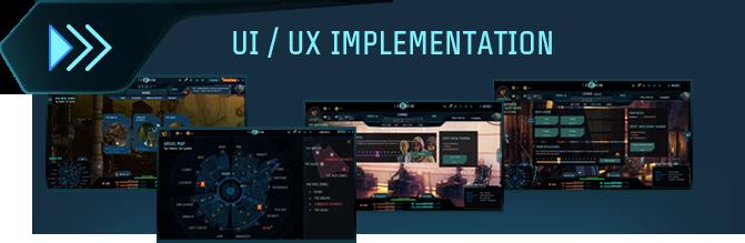 UI/UX implementation