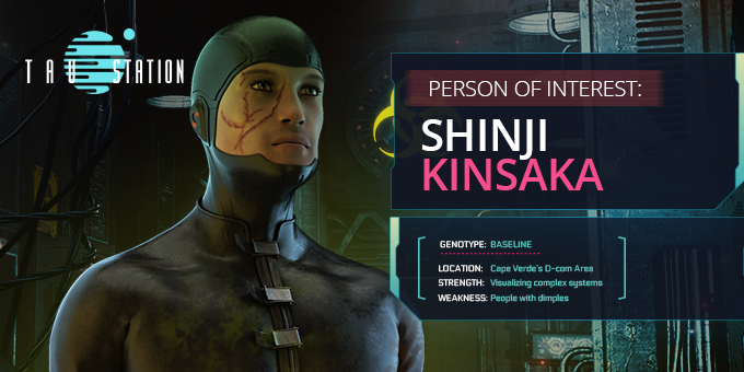 Person Of Interest: Shinji Kinsaka