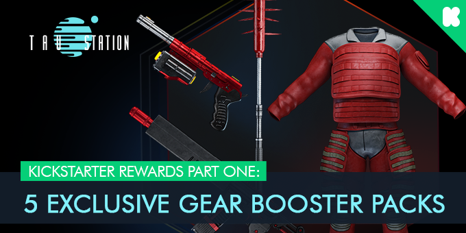 Kickstarter rewards part one: 5 Exclusive Gear Booster Packs