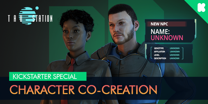 Kickstarter Special: Character Co-Creation