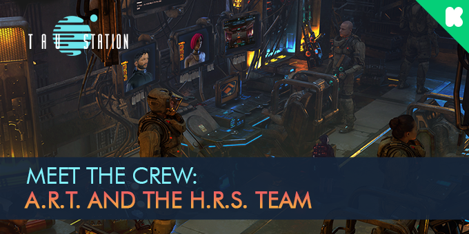 Meet the Crew: A.R.T. and the H.R.S. Team