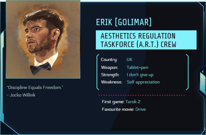 Tau Station ID of Erik