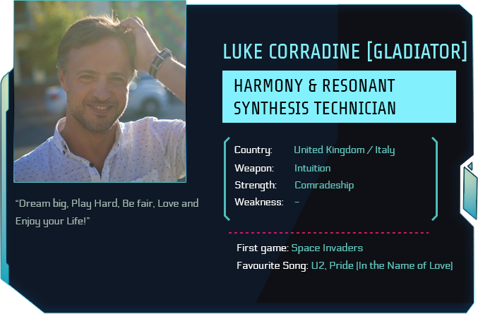 Tau Station ID of Luke Corradine