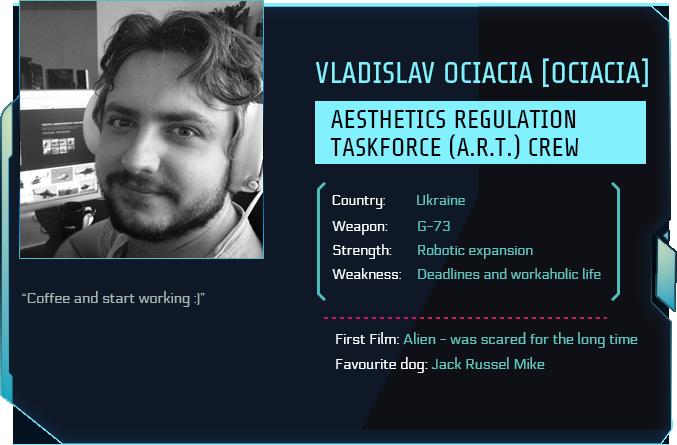 Tau Station ID of 3D artist Vladislav