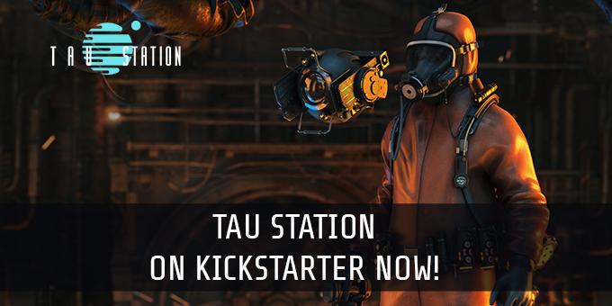 Tau Station on Kickstarter!
