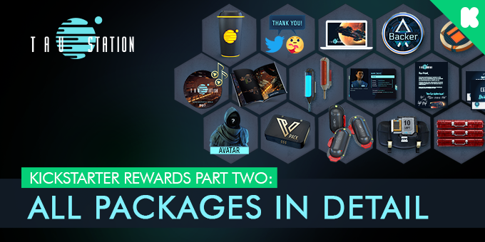 Kickstarter rewards part two: All packages in detail