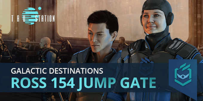 Galactic Destinations: Ross 154 Jump Gate
