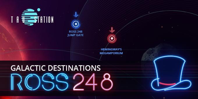 Galactic Destinations: Ross 248