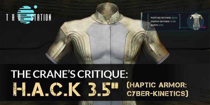 The Crane's Critique: H.A.C.K 3.5″