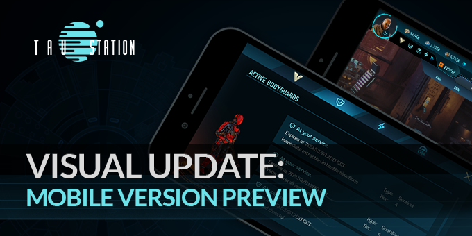 Visual update: Mobile Version Preview