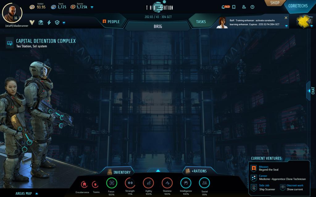 Updated game layout. Desktop version