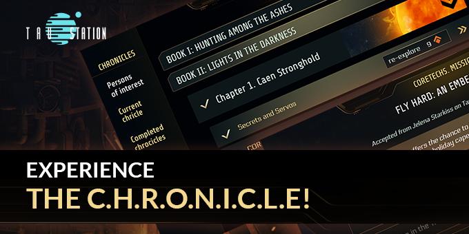 Experience the C.H.R.O.N.I.C.L.E!
